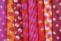 Little Forest Fabric pattern collection by bora