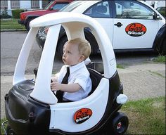 Tricked out Cozy Coupe- this would be epic for Halloween