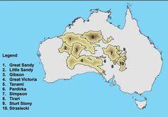 Image result for deserts in australia map | Deserts | Pinterest ...
