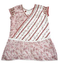 Beautiful hand embroidered tunic in shadow and taipchi work with tie to create peplum effect in the front. The diagonal emebroidery with pleats create the slimming effect. Embroidered Tunic, Beautiful Hands, Peplum, Beige, Silk, Create, Cotton, Tops, Women