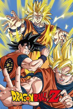 Dragonball Z Goku - Official Poster