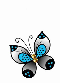 Butterfly Drawing, Butterfly Painting, Colorful Drawings, Easy Drawings, Rock Crafts, Arts And Crafts, Pottery Painting Designs, Mushroom Art, Stone Art