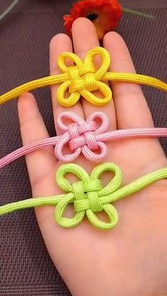 New Crafts, Diy And Crafts, Arts And Crafts, Paper Crafts, Paracord, Handmade Wire Jewelry, Do It Yourself Projects, Jewelry Crafts, Knots