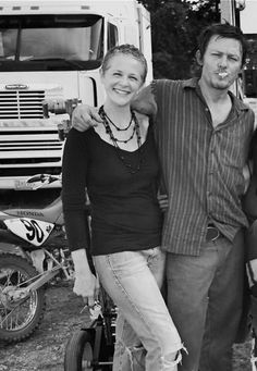 Carol and Daryl-Oh Yes the season premiere where these two reunite..............Yes I cried!!! And little Asskicker reuniting with Carl and Rick...Yay Judith!!!!!