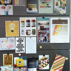 Inspiration board at American Crafts.