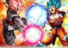 Black vs. Goku