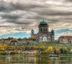 Basilica of Esztergom, Hungary Places Around The World, Travel Around The World, Around The Worlds, Bratislava, Travel Pictures, Travel Photos, Beautiful World, Beautiful Places, Travel Memories