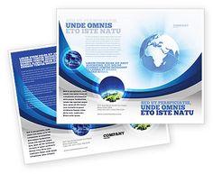 http://www.poweredtemplate.com/brochure-templates/global/04456/0/index.html Blue Globe Brochure Template