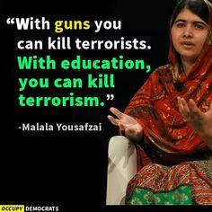 Malala Yousafzai, daughter of the soil. Pakistani heroes.