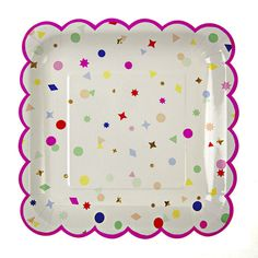 Confetti Charms Large Plates
