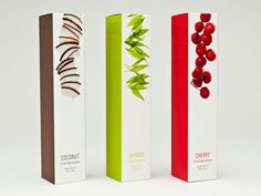"""Lovely cosmetics packaging design. """"Fruits and passion"""""""
