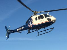 Air Methods' Georgia AirLife 8, which is based out of Carrolton, Ga., lifting from Children's Healthcare of Atlanta at Egleston after a flight.
