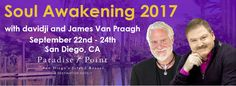 In this powerful, transformative SOUL AWAKENING 2017 experience davidji & James will teach you the healing process of getting so quiet that you will hear the whispers of the divine, in an intimate and soul enriching setting. Learn more today!!