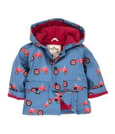 Hatley Farmer Jack Raincoat www.babybebeboutique.co.uk