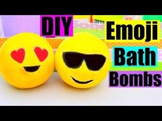 DIY EMOJI BATH BOMBS! - YouTube