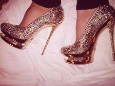 #glitter #shoes #pumps