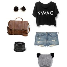"""""""Swag"""" by hannah-wurmsdobler on Polyvore Swag, Polyvore, Outfits, Fashion, Style, Clothes, Moda, Suits, Fasion"""