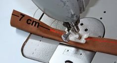 machwerk: Taschenhenkel aus Leder selber machen.....