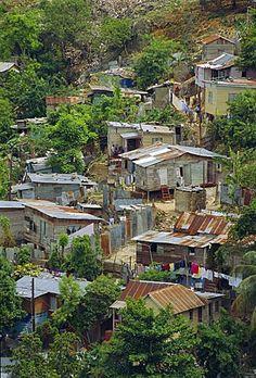 Chabolas, Montego Bay, Jamaica, Caribe, Antillas