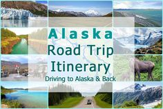 From California to Alaska and back in 40 days! See what our Alaska Road Trip Itinerary for the summer of 2017 looks like.