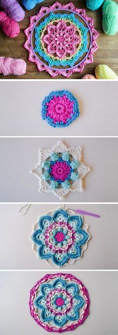 . Today we share a rather interesting tutorial with our readers. We believe that the project for is for the special cause. The pattern is provided in two parts. We were not able to find video tutorial for this beautiful piece, however we are going to link to the written pattern the original source of… Read More Crochet Beautiful Mandala Coaster