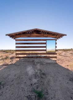The Colour Of Solitude: The ''Lucid Stead'' Light Installation By Phillip K. Smith III In The Middle Of A Desert | http://www.yatzer.com/lucid-stead-pks3  photo by Steven King Photography.