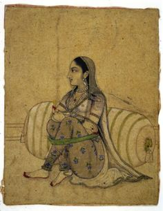 Maryam Zamani a Mughal princess Mughal Paintings, Indian Paintings, Indian Artwork, Persian Language, Mughal Empire, India Art, Art Reproductions, Fine Art Prints, Miniatures