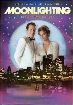 A Moonlighting site all about The TV series Moonlighting, the Blue Moon Detective Agency and the romance between David Addison (Bruce Willis) and Maddie Hayes (Cybill Shepherd) plus info on the Moonlighting DVD Release 80 Tv Shows, Old Shows, Movies And Tv Shows, Cybill Shepherd, Mejores Series Tv, Bruce Willis, Vintage Tv, My Childhood Memories, Design Shop