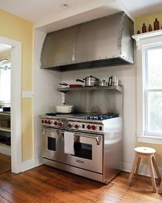 could we have a metal hood made for the stove?