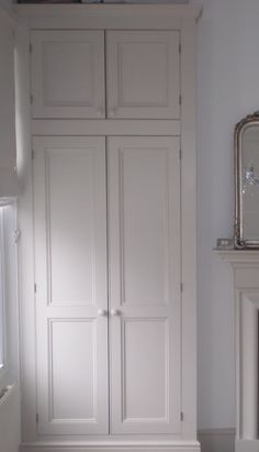 Bedroom Storage Alcove Wardrobe Doors 63 New Ideas Alcove Cupboards, Built In Cupboards, Bedroom Cupboards, Alcove Wardrobe, Bedroom Wardrobe, Home Bedroom, Bedroom Furniture, Bedroom Closets, Cupboard Wardrobe