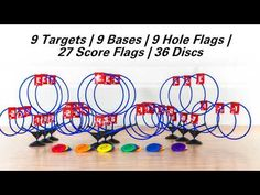 TripleShot Disc Target Set: #phed #physicaleducation #physical education #homeschool #target Disc Golf Game, Target Setting, Negative Numbers, Physical Education, Games, Homeschool, Physical Education Lessons, Physical Education Activities, Gaming