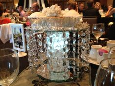 Dessert Centerpiece www.crystalorchidweddings.com
