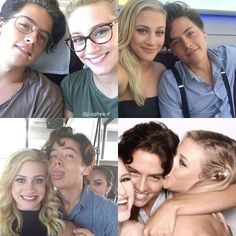 Riverdale ❤️ Lili Reinhart And Cole Sprouse ❤️ Bughead ❤️ can't wait until tomorrow's episode