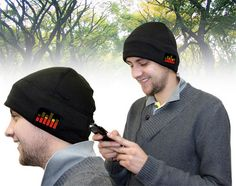 The Light & Sound Hat(GBP 20) will not only keep your ears warm, and make you cool as well. It features two light-up equalizer panels and built in speakers, it can be connected to your iPod or other compatible MP3/MP4 players, cellphones in order to let its amplified speakers get to work. Compatible with any music player with standard headphones output (3.5mm).