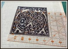 DIFFICULTY LEVEL: MODERATE - MUST BE METHODICAL AND PRECISE IN APPROACH Things you will need to frame as shown: 1.) Finished Stitched P...