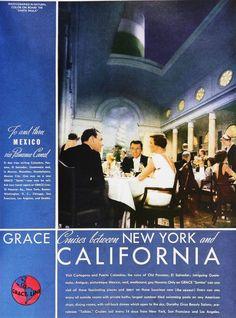 Grace Lines - 1935 ad
