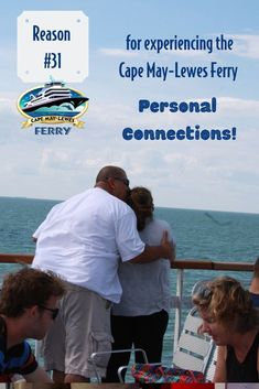 """LEWES FERRY 3/"""" Iron On Patch NEW Free Shipping CAPE MAY"""