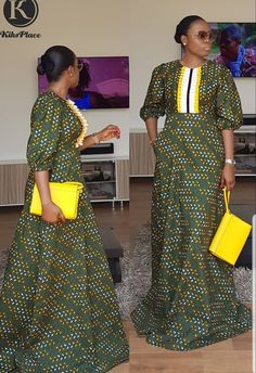 Trending Plain and Pattern Ankara Styles Ankara Long Gown Styles, African Dresses For Women, African Print Dresses, African Attire, African Wear, African Fashion Ankara, Latest African Fashion Dresses, African Print Fashion, Africa Fashion