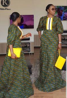 Trending Plain and Pattern Ankara Styles African Fashion Ankara, Latest African Fashion Dresses, African Print Fashion, Africa Fashion, African Inspired Fashion, Long African Dresses, Ankara Long Gown Styles, African Print Dresses, African Attire