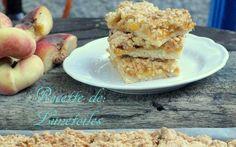 barre crumble de peches et d'abricots - Amour de cuisine
