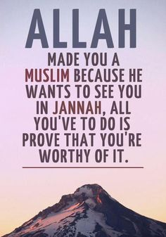 Unlike Christianity, in Islam you have to prove yourself, to earn favor. Unlike Christianity, in Islam you have to prove yourself, to earn favor. Best Islamic Quotes, Beautiful Islamic Quotes, Islamic Teachings, Islamic Love Quotes, Islamic Inspirational Quotes, Muslim Quotes, Religious Quotes, Beautiful Images, Muslim Couple Quotes