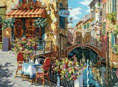 Puzzle VENECIA Restaurante Tartuffo- italia ( Ref:  0000039164 )