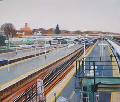Karl Newman.  Guildford Station.  2014