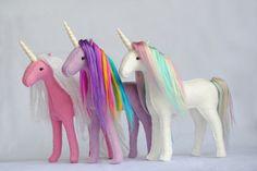 Sewing Stuffed Animals Stuffed Unicorn Sewing Pattern - Sewing Patterns at Makerist - Horse Pattern, Unicorn Pattern, Sewing Stuffed Animals, Stuffed Animal Patterns, Sewing Toys, Sewing Crafts, Sewing Hacks, Sewing Tutorials, Sewing Ideas