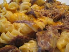 Roast Beef Casserole-finally a use for left overs - This recipe is for leftovers, but you could easily make it into a casserole to freeze