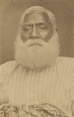 Cakobau, last King of Fiji. Died February 1883, photograph by Francis H. Dufty.jpg