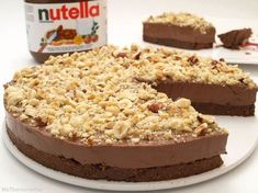 Nutella Cheesecake, Cheesecake Recipes, Food Network Recipes, Cooking Recipes, Decadent Cakes, Desert Recipes, Cake Cookies, Sweet Recipes, Bakery