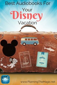 Are you wondering how you should keep your kids entertaining when you are on your way to your next Disney trip? Audiobooks for your Disney Vacation.