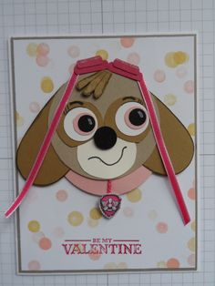 Animals Birthday Cards Fresh Skye From Paw Patrol Handmade Cards Punch Art Birthday Cards For Boys, Handmade Birthday Cards, Handmade Cards For Boyfriend, Coloring Birthday Cards, Easy Diy Valentine's Day Cards, Pop Up Greeting Cards, Punch Art Cards, Turtle Birthday, Paw Patrol Party