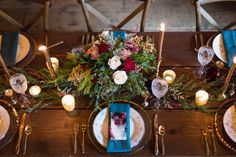 Marsala Wedding Inspiration at the Barrister Winery | Valorie Darling Photography